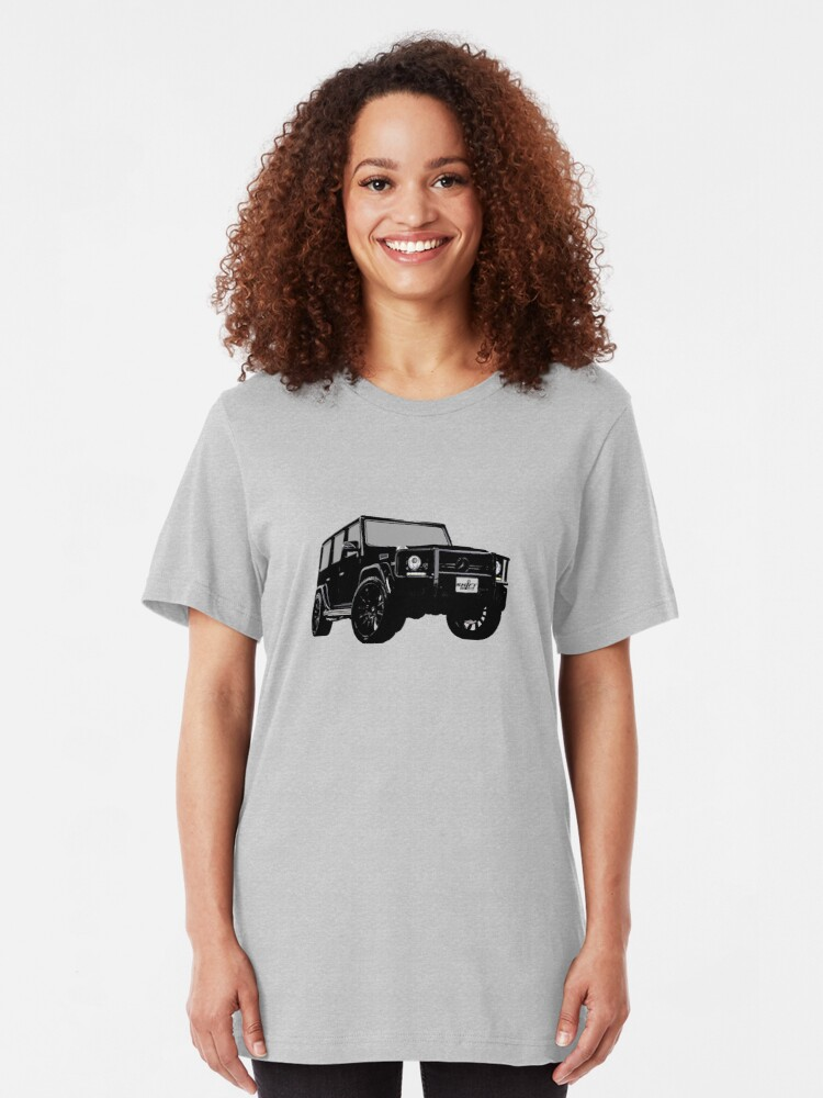 Alternate view of Shift Shirts OG - AMG G-Wagon Inspired Slim Fit T-Shirt
