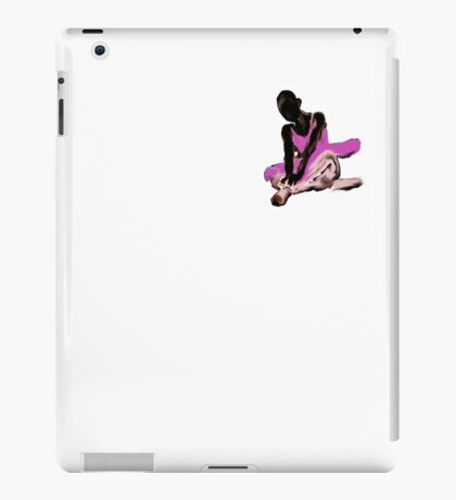 little ballerina sitting  iPad Case/Skin