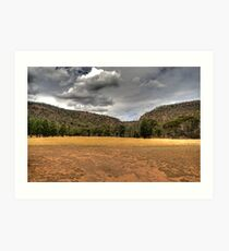 Weddin Mountains Art Print