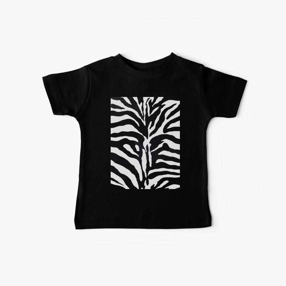 Zebra-Druck Baby T-Shirt