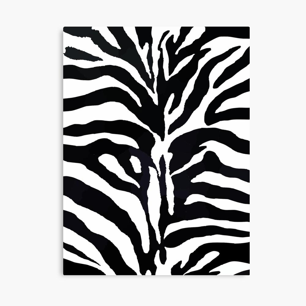 Zebra-Druck Leinwanddruck