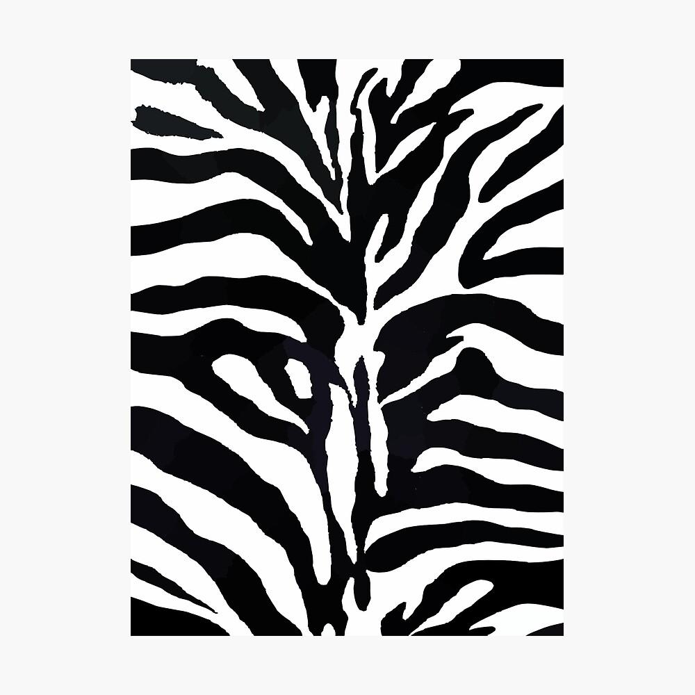 Zebra-Druck Fotodruck