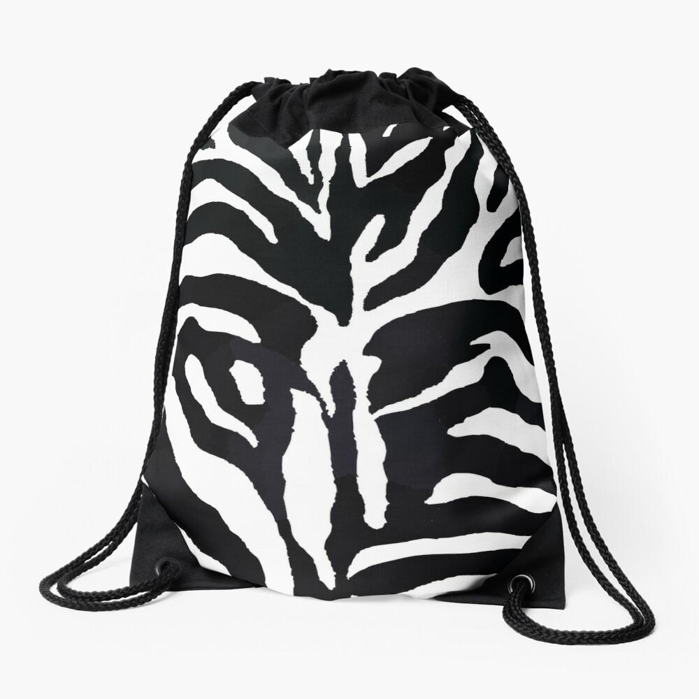 Zebra-Druck Turnbeutel
