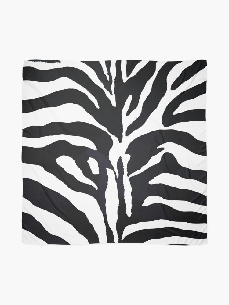 Alternative Ansicht von Zebra-Druck Tuch