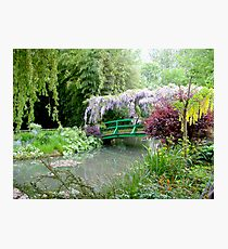 Monet's Bridge Photographic Print