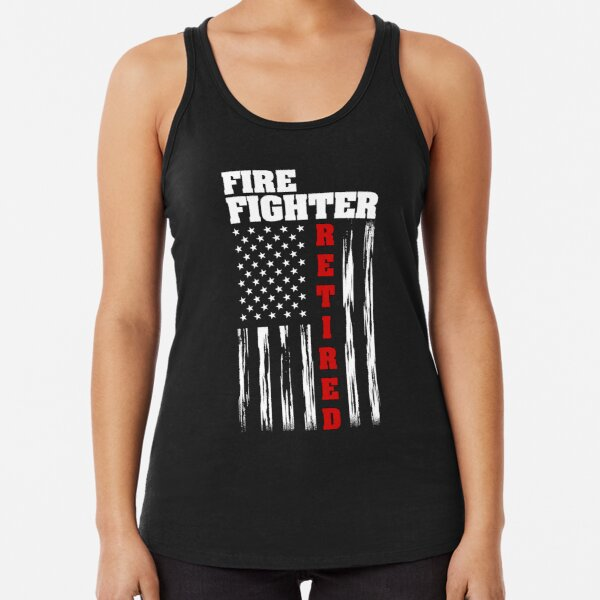 Fire Rescue Tank Top We Fight What You Fear Muscle Shirt