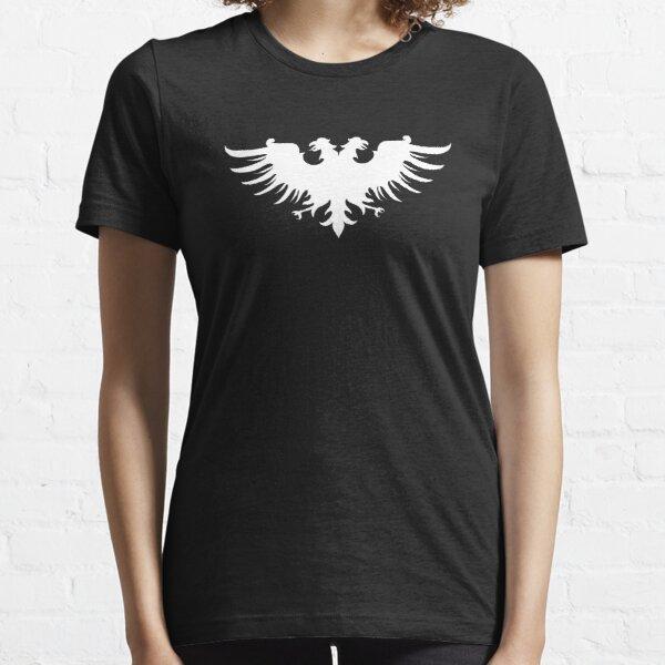 Imperial Symbol Two Headed Eagle Medieval Emblem Wargaming Essential T-Shirt