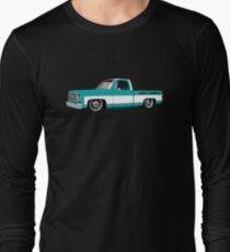 Shift Shirts Slammed Square - SQUAREBODY Inspired  Long Sleeve T-Shirt