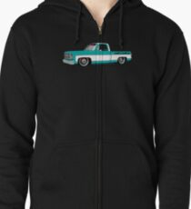 Shift Shirts Slammed Square - SQUAREBODY Inspired  Zipped Hoodie