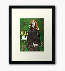 Jules et Jim Framed Print