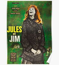 Jules et Jim Poster
