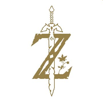 Breath Of The Wild Z Gold by TheKalebFishStore