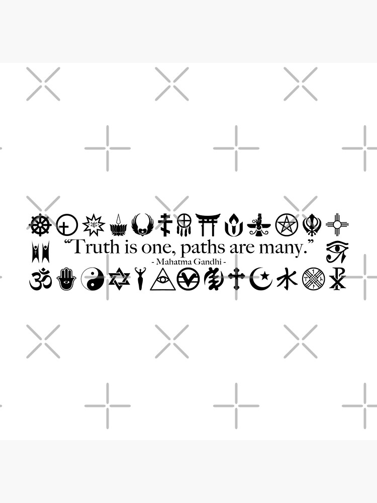 Truth Is One, Paths Are Many - World Religions by litmusician