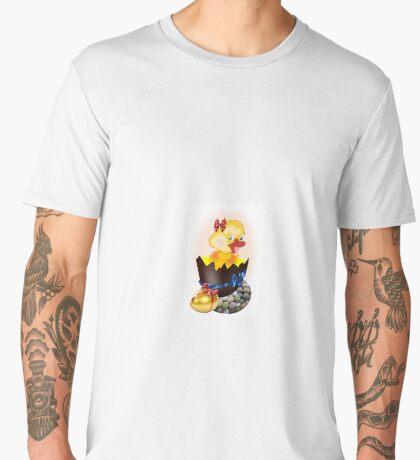 Easter Chick (4660 Views) Men's Premium T-Shirt