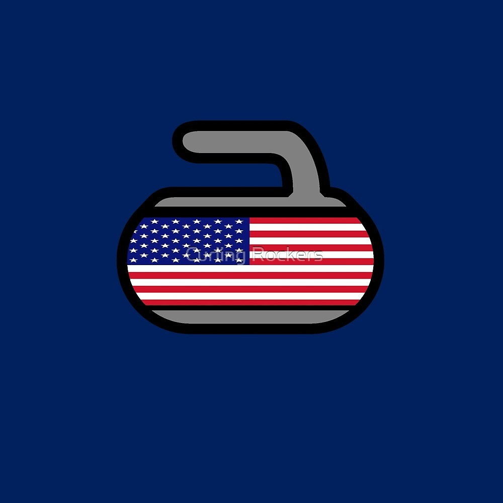 U.S.A. Rocks! - Curling Rockers by Curling Rockers