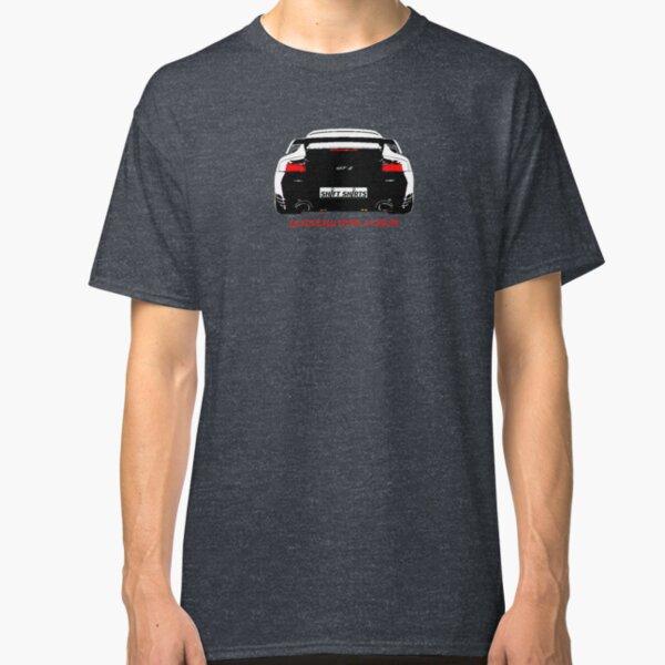 Shift Shirts Black Widow – Porsche 911 996 GT2 Inspired Unisex T-Shirt Classic T-Shirt