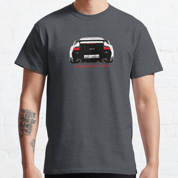 Shift Shirts Black Widow – Porsche 911 996 GT2 Inspired Unisex T-Shirt Classic T-Shirt