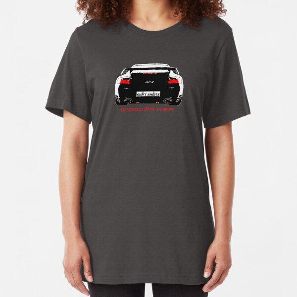Shift Shirts Black Widow – Porsche 911 996 GT2 Inspired Unisex T-Shirt Slim Fit T-Shirt