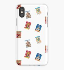 cereal boxes iPhone Case