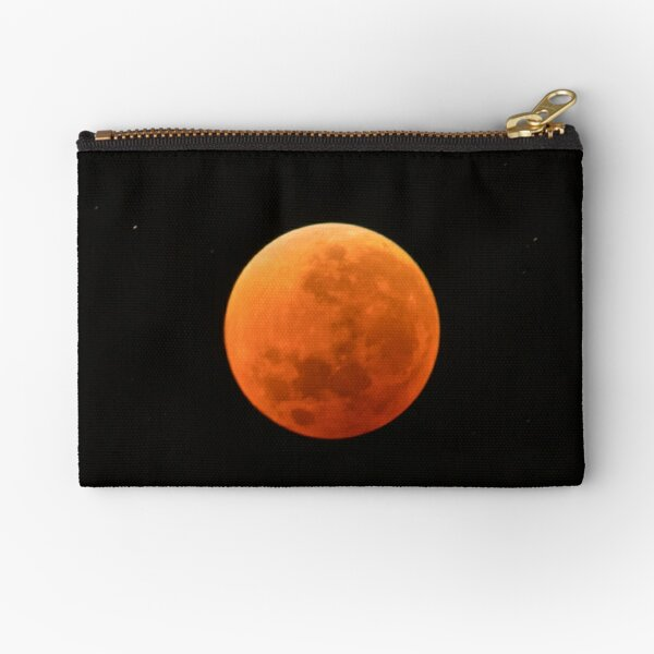 Super Blue Blood Moon Astronomy Graphic Zipper Pouch