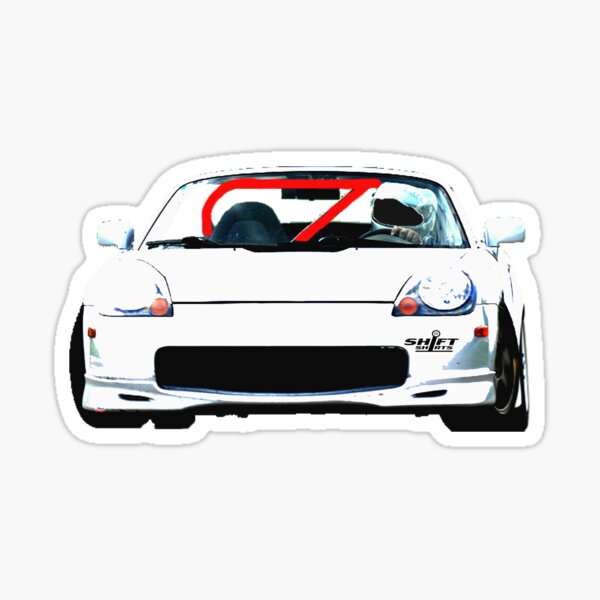 Shift Shirts Mid-Rear - Midship Runabout Inspired Sticker