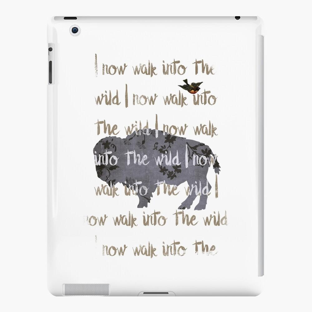 Walk into the wild iPad Case & Skin