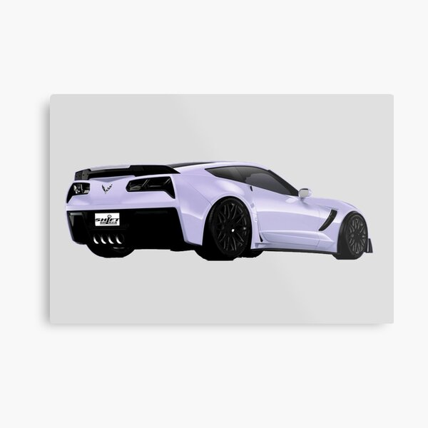 Shift Shirts Z0Sick - Z06 Inspired  Metal Print