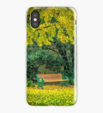 Autumn at Canterbury Botanical Gardens iPhone Case