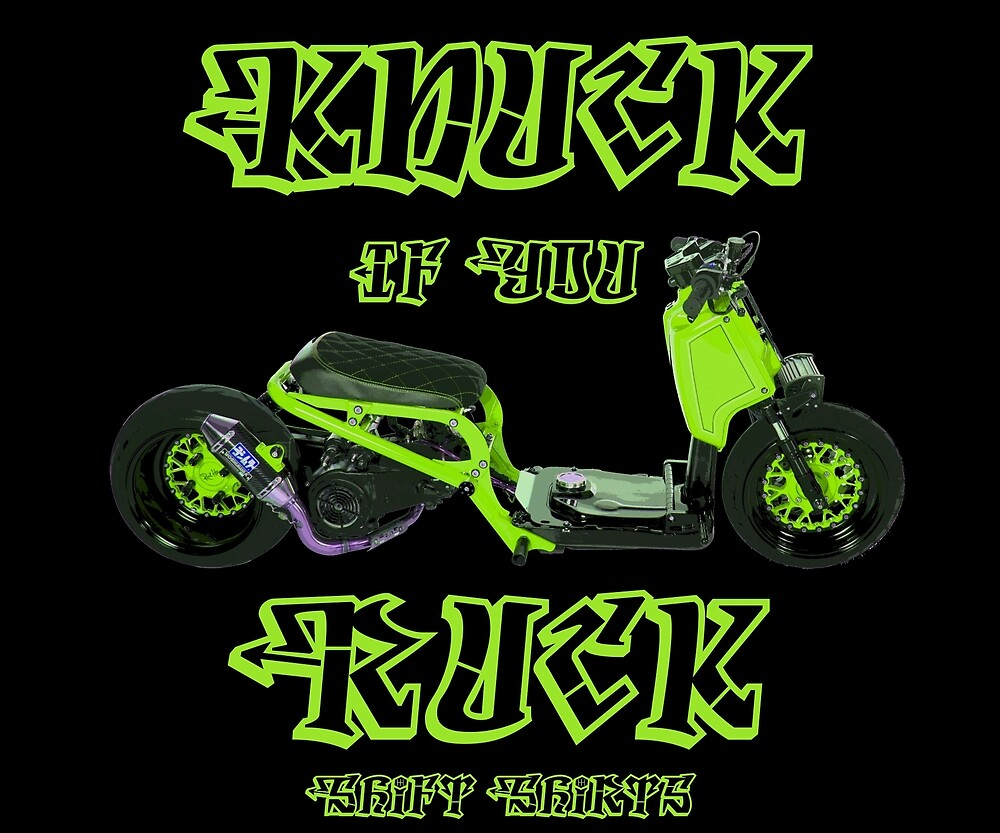 Shift Shirts Knuck If You Ruck – Ruckus Inspired by ShiftShirts