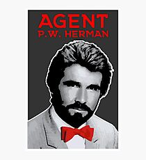 Agent P.W. Herman Photographic Print