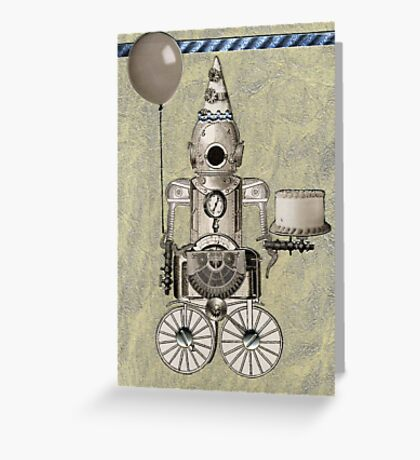 Birthday Robot Greeting Card