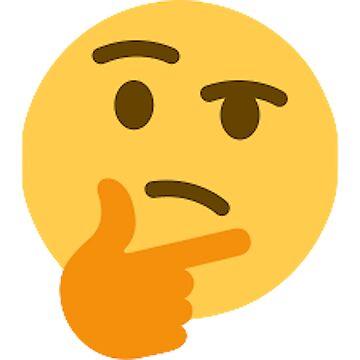 Thinking Emoji by WalrusClothesCo