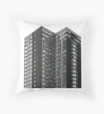 Avenham , Preston UK Throw Pillow