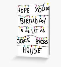 Beleuchtete Geburtstagskarte (kaufe # 2 nicht diese) Grußkarte