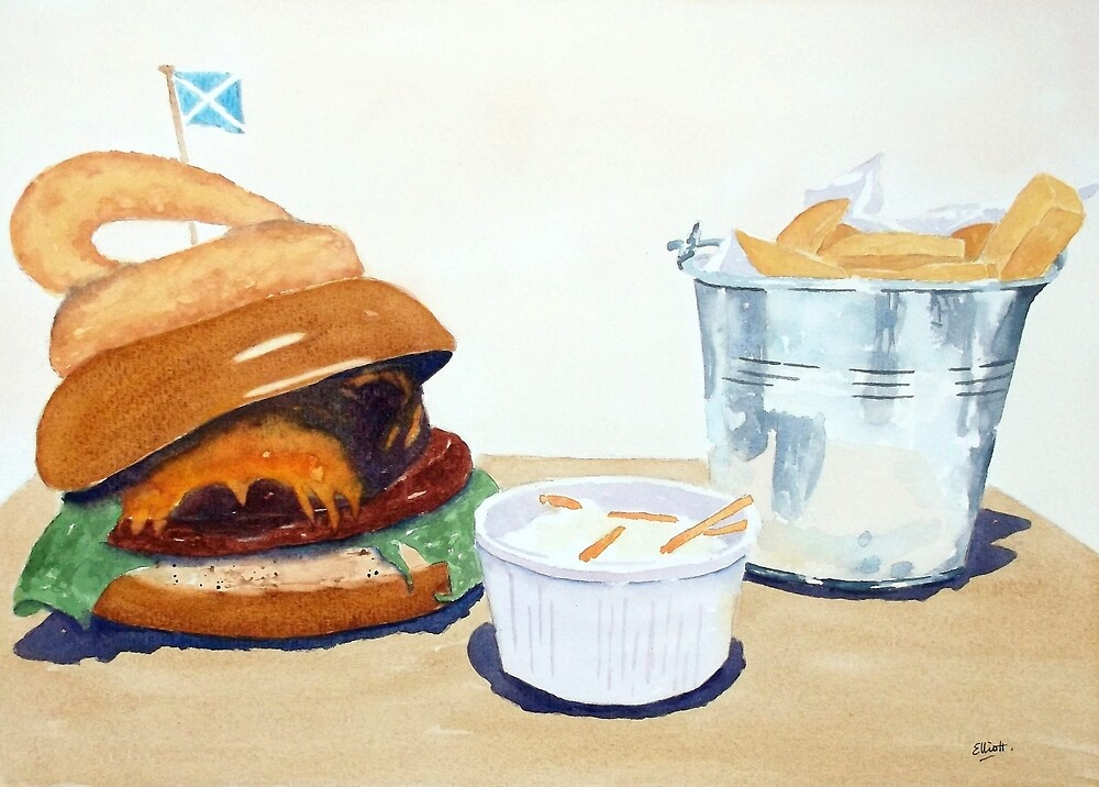 The Westport Burger by Pat  Elliott