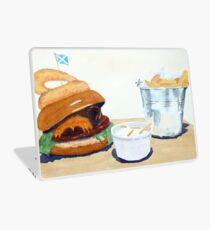 The Westport Burger Laptop Skin