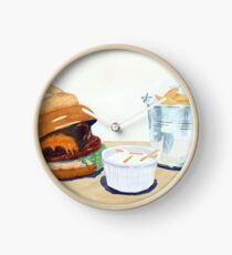 The Westport Burger Clock