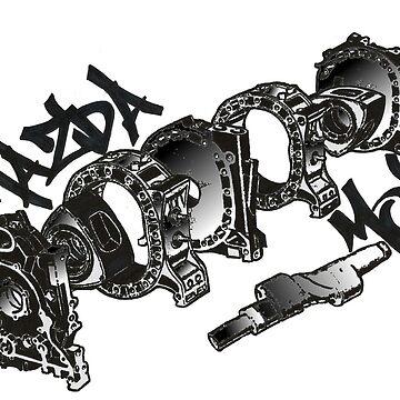 Mazda MOB Engine Layout by kandikittin