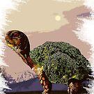 Broccoli Tortoise by zachsymartsy