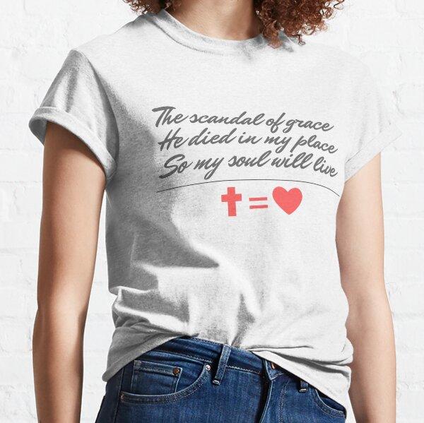 CROSS EQUALS HEART! Classic T-Shirt