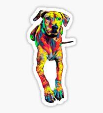 Rhodesian Ridgeback T-Shirt Art Designed Dog Sticker