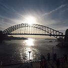 Sydney in the morning, on our way home  by Tom McDonnell