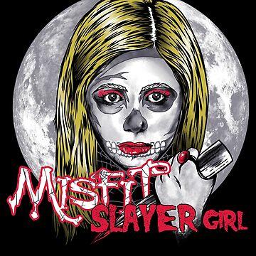 Slayer Girl by MitchLudwig
