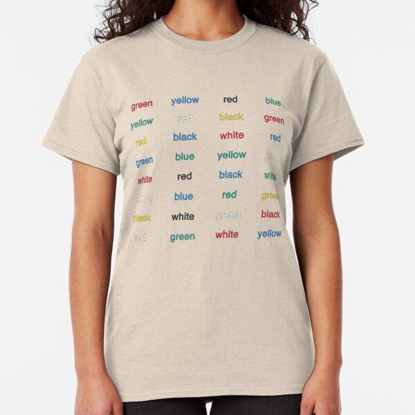 Stroop Effekt Classic T-Shirt