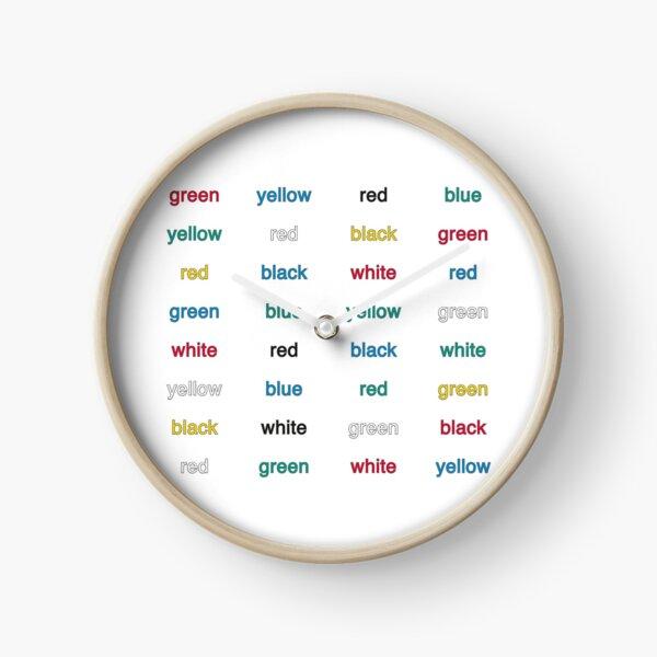 Stroop Effekt Uhr