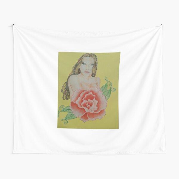 Rose Woman Tapestry