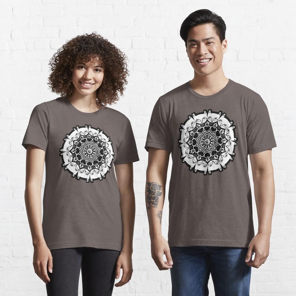 Mizzledala - cat mandala Essential T-Shirt
