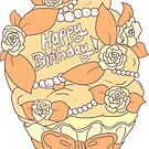 Happy Birthday Cupcake by aidadaism