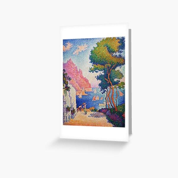 Capo di Noli, cerca de Génova-Paul Signac Greeting Card