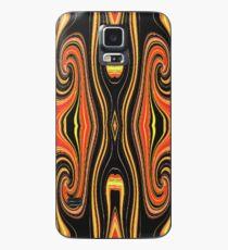 Tribal Orange Case/Skin for Samsung Galaxy